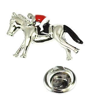 Ties Planet Horse & Jockey Lapel Pin Badge