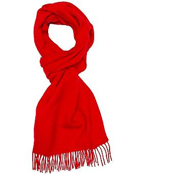 Krawatten Planet Plain rot Männer's lange Wolle Schal