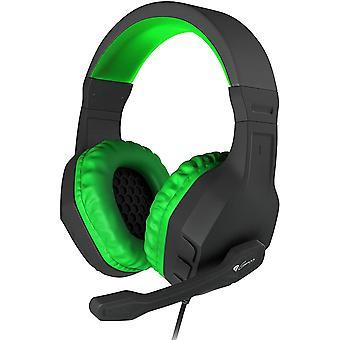 Genesis Gaming Stereo Headset Argon 200 For PC - Green/Black