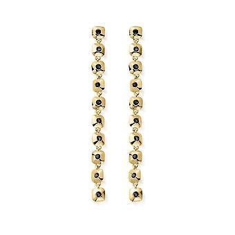 ChloBo Gold Graceful Aura Drop Earrings GEDR2557