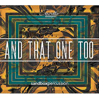 & That One Too [CD] USA import