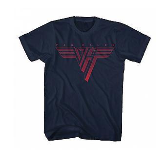 Van Halen Classic Red Logo T shirt