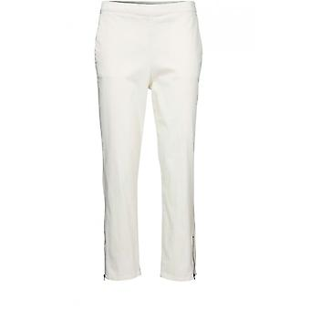 Masai Clothing Padme Cream Cropped Trousers