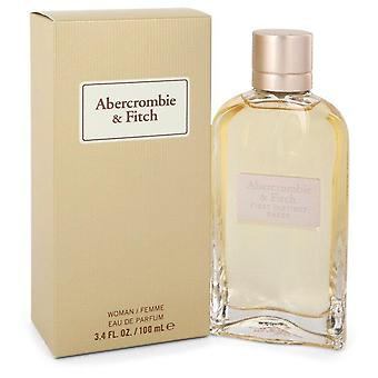 Första instinkt ren eau de parfum spray av abercrombie & fitch 551677 100 ml