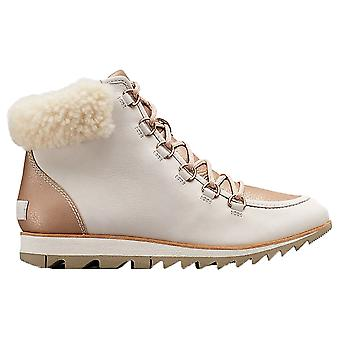 Sorel Harlow Lace Lux Boots - Natural