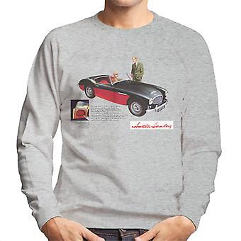 Austin Healey Black 100 Six British Motor Heritage Men's Sweatshirt
