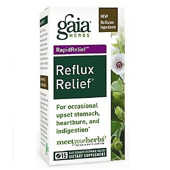 Gaia Herbs Reflux Relief, 15 Tabs