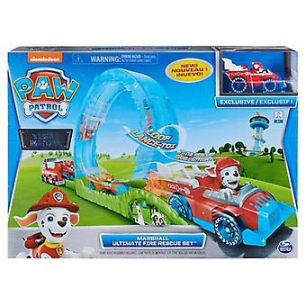 Paw Patrol True Metal Ultimate Fire Rescue Track Set