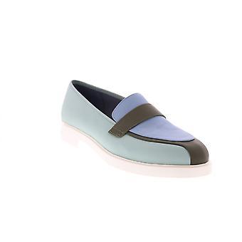 Camper TWS Womens Grön Syntetiska loafers & Slip Ons båt skor
