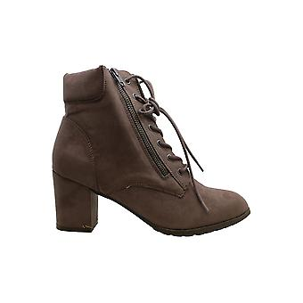 Madden Girl Women's Shoes Tell Leather Closed Toe Ankle Fashion Boots