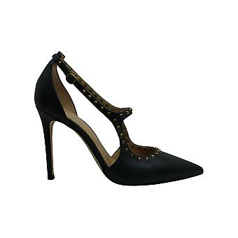 Michael Michael Kors Women-apos;s Shoes Ava Leather Pointed Toe Ankle Strap D-orsa...