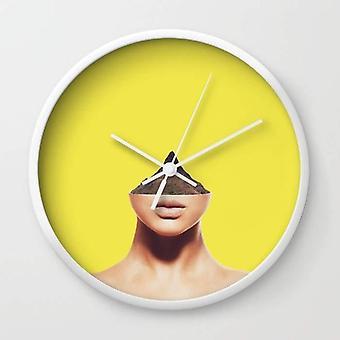 Verplaatsing muur klok