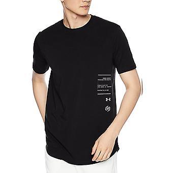 Unter Rüstung gemacht für Athleten Herren Fitness Training T-Shirt T-Shirt schwarz