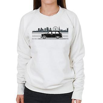London Taxi Company TX4 Driving Along The City Women's Sweatshirt