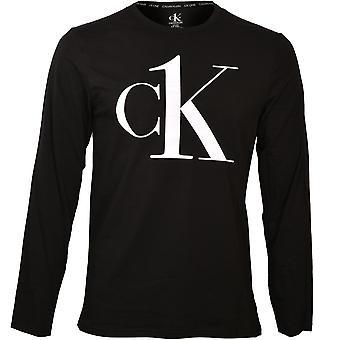 Calvin Klein CK1 Långärmad tröja, svart