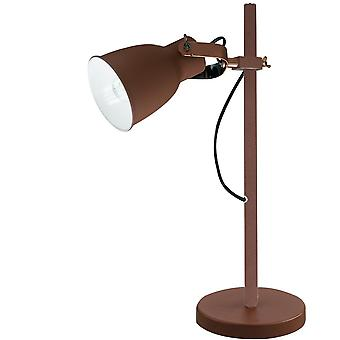Fan Europe Legend - Table Task Lamp, Corten, Copper, White, E27