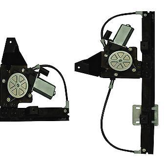 Paar hintere linke & rechte Seite Fensterregler mit Motor für Freelander Cvh101212, Cvh101202