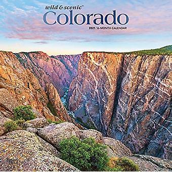 كولورادو البرية ذات المناظر الخلابة 2021 مربع احباط التقويم بواسطة براونتروت