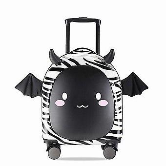 Roztomilý Cartoon Značka Kufre koleso deti Cestovná taška / študent vozík kabíny