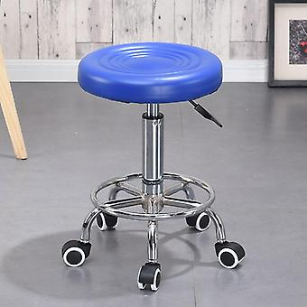 Adjustable Barber Chair Hydraulic Rolling Stand Chair Face Massage Salon