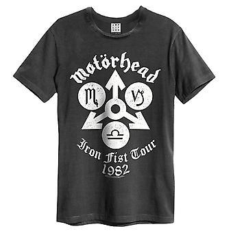 増幅されたモーターヘッド鉄拳Tシャツ