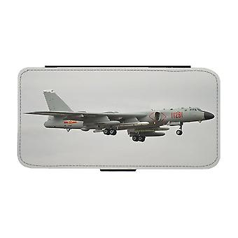 Xian H-6 Strategisk Jetbombplan iPhone 12 Mini Plånboksfodral