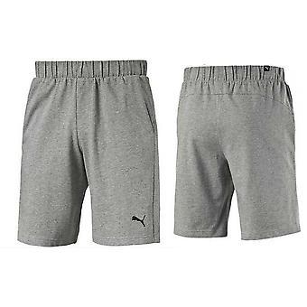 "Puma Essential Ess Jersey 9"" Pantaloni scurți gri mens 838262 03"