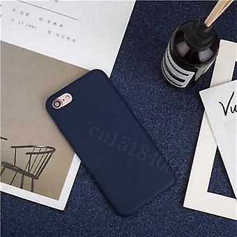 Iskunkestävä pehmeä ylellinen silikoni ohut pehmeä väri puhelinkotelo Iphonelle
