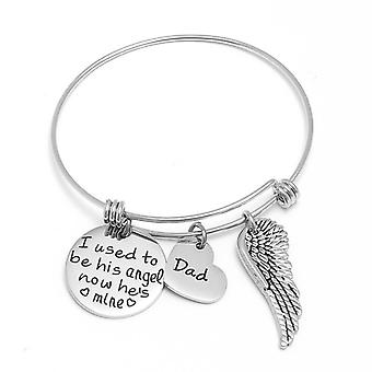 I Used To Be His Angel Bracelet