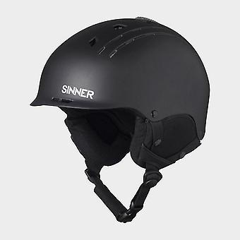 Sinner Men's Pincher Snowsports Ski Helmets Black