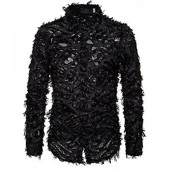 Feather Lace Shirts