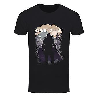 Grindstore Miesten selviytyminen ei ole elävä t-paita