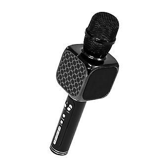 Haut-parleur karaoké microphone - Bluetooth + Micro SD