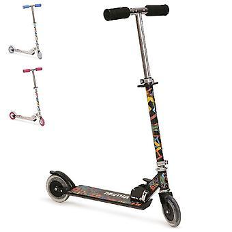 Kinder scooter Magic, scooter hoogte verstelbaar, inklapbaar, PU wielen 125 mm