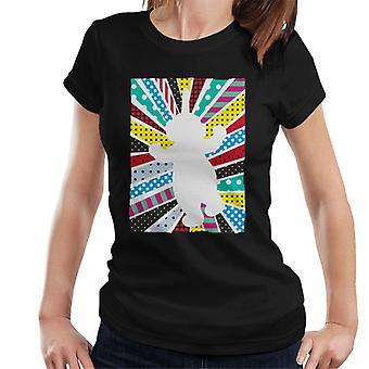 Teletubbies Dipsy Silhouette Women's T-Shirt