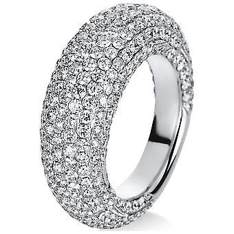 Luna Creation Manifesto Ring Pavé 1C260W856-2 - Ring width: 56