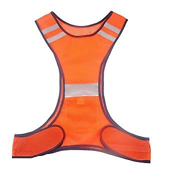 High Visibility Reflective Safety Vest Fluorescent Security Clothing Gear