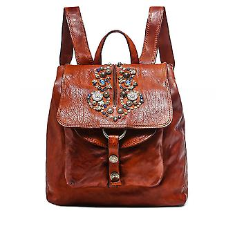 Campomaggi Embellished Leather Backpack