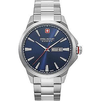 Hanowa militar suizo - Reloj de pulsera - Unisex - 06-5346.04.003 - Día Fecha Clásico -