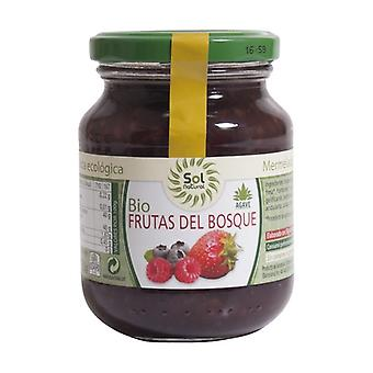 Forest Fruit Jam without Sugar Organic 325 g