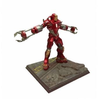 Dragon Marvel 1:24 Iron Man Mk 35 Red Snapper Vignette