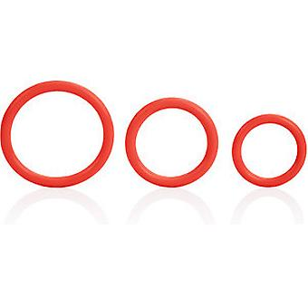 Calexotics Red Tri Rings (Health & Beauty , Personal Care , Cosmetics , Cosmetic Sets)