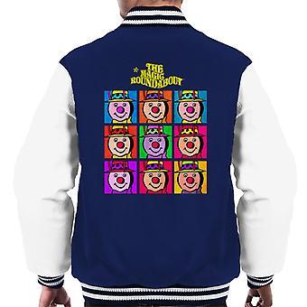 The Magic Roundabout Brian Pop Art Men's Varsity Jacket