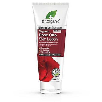 Dr. Organic Loción Corporal Rose Otto 200 ml