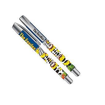 De Beatles Pen Yellow Submarine zee van gaten band logo officiële kunststof Gel