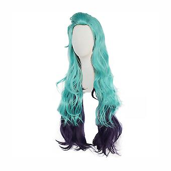 Cosplay Wig Seraphine Anime Long Wig Cap Green
