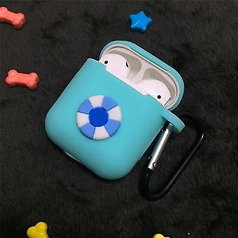 מגן עבור Airpods עמיד לאבק / מגן אוזניות יפה רך