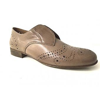 Shoes Woman Gas N. Bearded Scamiciata Derby Leather Mud Bottom Leather Ds15nb02