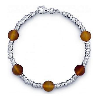 QUINN - Pulseira - Senhoras - Prata 925 - Pedra Preciosa - Carneol - 28312006