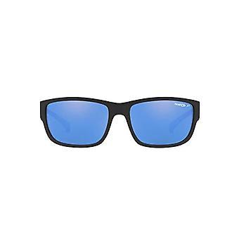 Ray-Ban 0AN4256 Sunglasses, Brown (Matte Black), 62.0 Men's